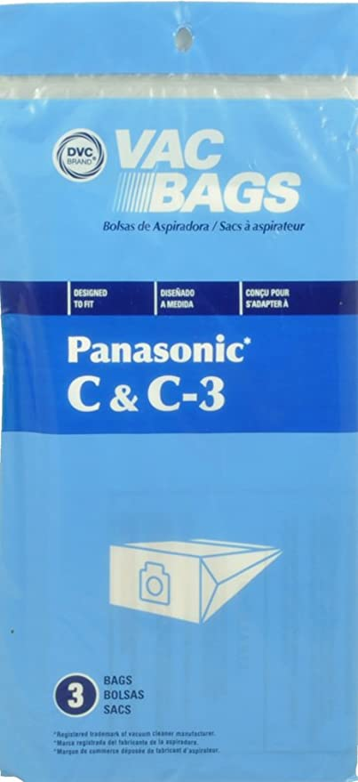 Amazon.com - Panasonic Type C & C-3 Canister Vacuum Cleaner ...