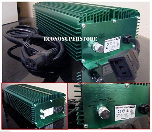 1000w Super Lumen Switchable Mh Hps Digital Ballast 1000 Watt 120v/240v