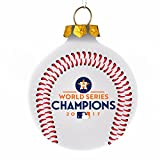 Forever Houston Astros 2017 World Series Champions Christmas Holiday Glass Ball Ornament