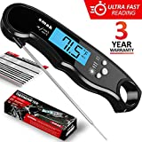 Best Probe For Kitchen Cooking - Digital Instant Read Meat Thermometer - Waterproof Kitchen Review