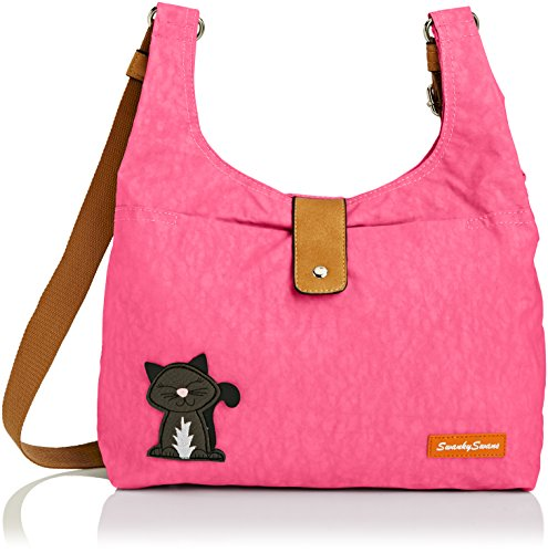 SwankySwans Womens Cindy Cat Tote Pink (Light Pink)