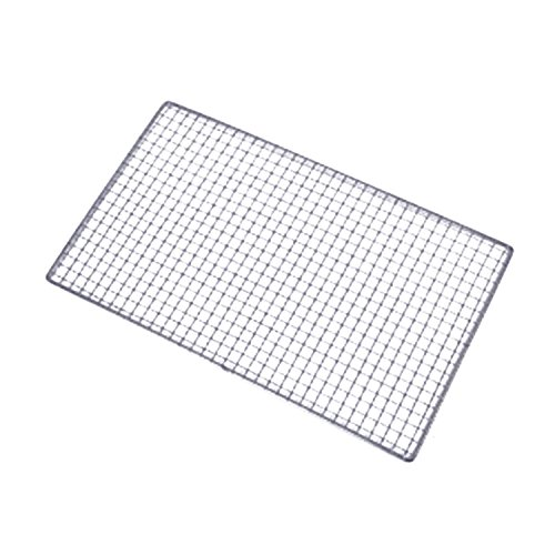 Potato Grill Rack (3 Sizes BBQ Grill Stainless Steel Net Wire Replacement Mesh Camping Rectangle Barbecue Outdoor Picnic BBQ Accessories)
