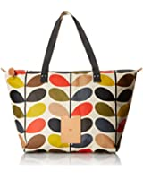 Orla Kiely Multi Stem Zip Shopper Shoulder Bag
