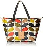 Orla Kiely Multi Stem Zip Shopper Shoulder Bag, Multi, One Size