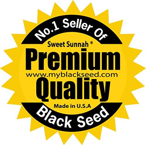 Premium Black Seed Oil Cold Pressed Egyptian Black Seed Oil -- 8 oz by Sweet Sunnah by Sweet Sunnah (Image #6)
