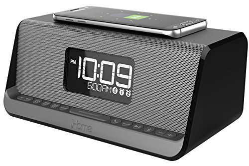 42014673b0d iHome iBN350 NFC Bluetooth Stereo Dual Alarm Clock with - Import It ...