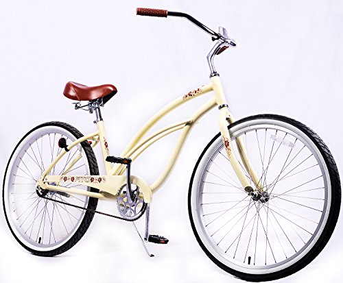 alloy single girls Women's 26 inch cruiser bicycle by firmstrong the urban lady single speed, red is a comfortable and cute cruiser bike for women buy online or in store.