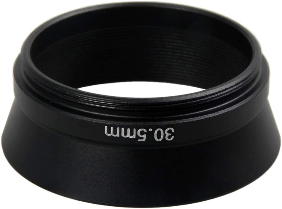 30.5mm Metal Lens Hood Shade for Rollei 35S 35SE HFT 40mm f//2.8 Sonnar Camera