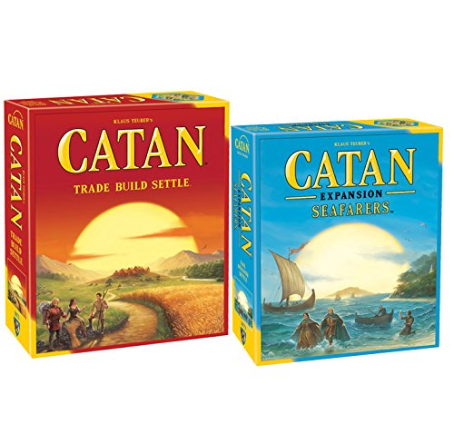 Catan 5th Edition with Seafarers Game Expansion by Catan Studios