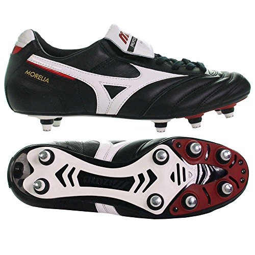 Mizuno , Chaussures de football américain pour homme - Noir - Nero, 39 EU