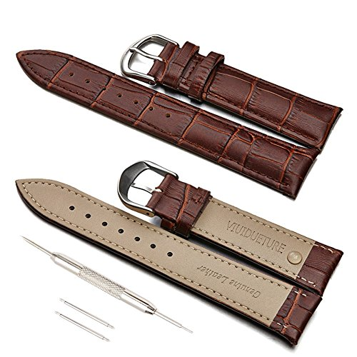 viuidueture-black-brown-leather-watch-bands-genuine-leather-replacement-watch-strap-for-men-and-wome