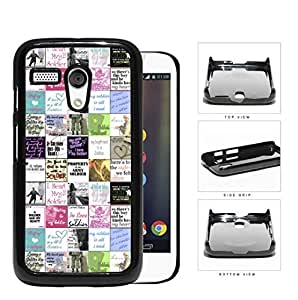 Colorful I Love Soldier Us Army Motorola (Moto G) Hard Snap On Plastic Cell Phone Cover