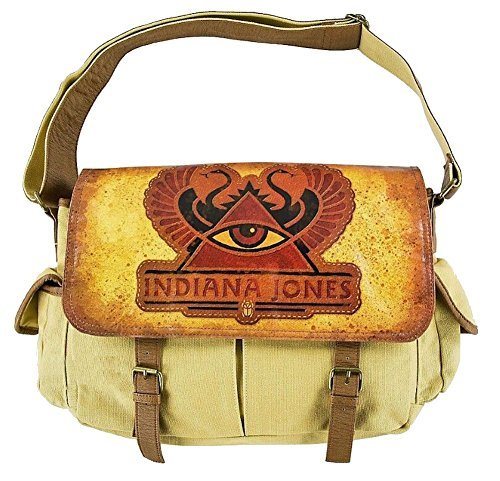 Disney Parks Indiana Jones Messenger Crossbody Bag (Indiana Jones And The Temple Of Doom Dvdrip)