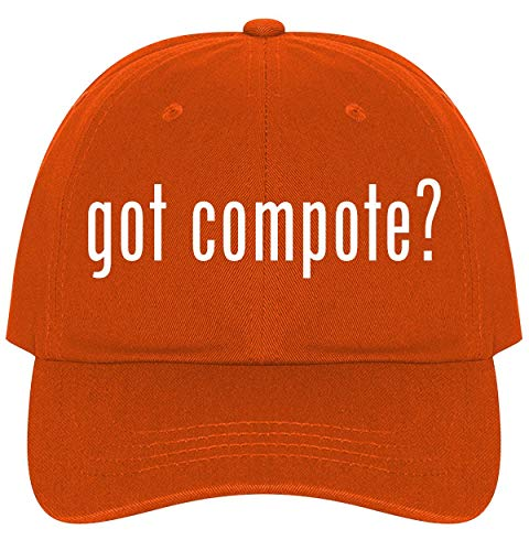 The Town Butler got Compote? - A Nice Comfortable Adjustable Dad Hat Cap, Orange