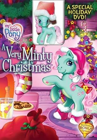 my little pony a very minty christmas dvd toy