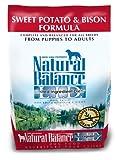Natural Balance Sweet Potato and Bison Formula Dog Food, 5-Pound Bag, My Pet Supplies