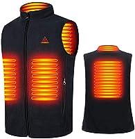 Bemega 電熱ベスト 電熱ジャケット USB加熱 3段階温度調整 防寒 ヒートベスト 水洗い可能 男女兼用 日本語説明書付き