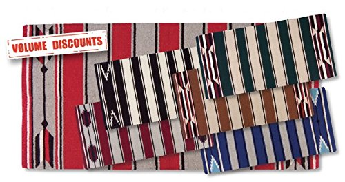 Mayatex Hogan Saddle Blanket, 30 x 60-Inch, Assorted Colors