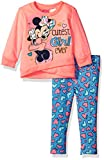 Disney Girls' Minnie Mouse 2-Piece Faux Wrap Legging Set фото