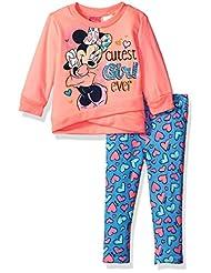 Disney Toddler Girls\' Minnie Mouse 2-Piece Faux Wrap Legging...