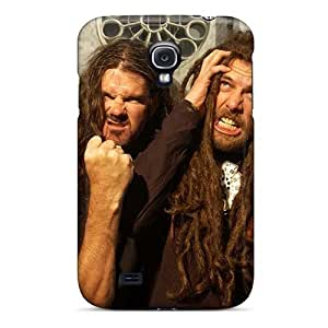 Bumper Cell-phone Hard Covers For Samsung Galaxy S4 With Customized High Resolution Morbid Angel Band Pictures LauraAdamicska