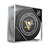 Sher-Wood Hockey NHL Pittsburgh Penguins Official Game Puck