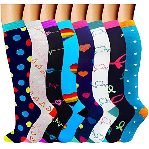 ACTINPUT Compression Socks Women & Men 20-30 mmHg