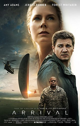 ARRIVAL Original Movie Poster 27x40 - DS - Amy Adams - Jeremy Renner - Forest Whitaker - Michael Stuhlbarg
