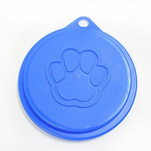 Coperchio riutilizzabile per lattina alimenti animale domestico, cane, gatto, 2 pz/confezione, colore casuale (8,8cm/7,5cm due taglie per scatola) 8cm/7 Mugetech