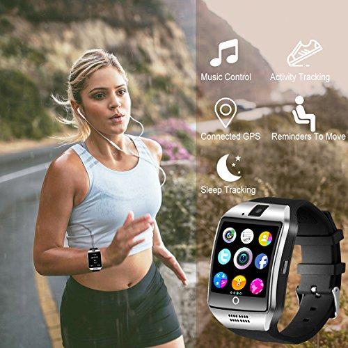 Bluetooth Smart Watch with Camera Waterproof Smartwatch Touch Screen Phone Unlocked Cell Phone Watch Smart Wrist Watch Smart Watches for Android Phones iOS Smartphone Men Women Kids by IFUNDA (Image #4)