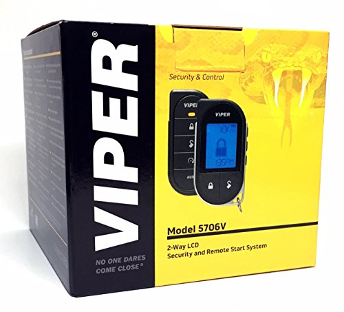 Viper 5706V 2-Way LCD Alarm & Remote Car Starter 1 Mile Range & Directed DB3 XPressKit DEI Databus ALL Combo Bypass / Door Lock Interface Bundle Package by Click & ADD (Image #1)
