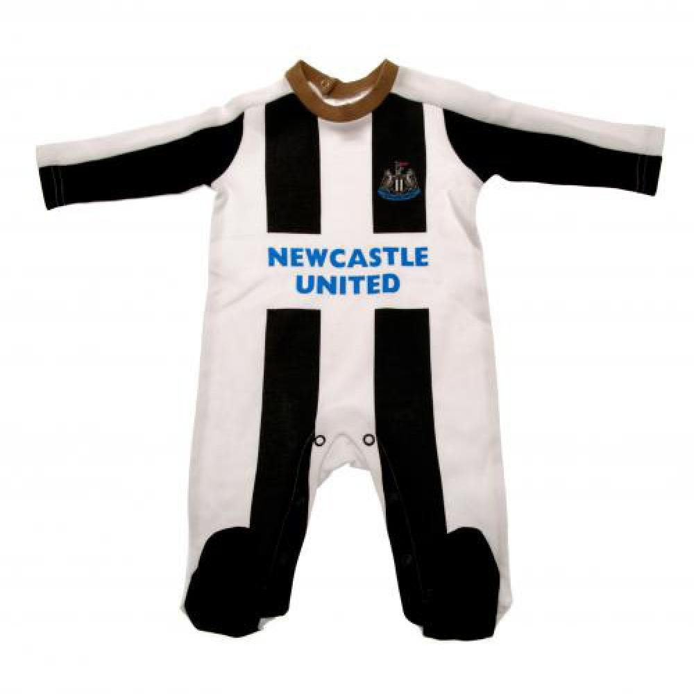 Official Newcastle United FC Baby Sleepsuit (3-6 Months) ONTRAD Limited