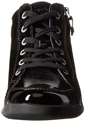 Women's ara Patent US Crinkle M Rylee Black Vernice Metallic 6 B Sneaker Black drqZOXxwr
