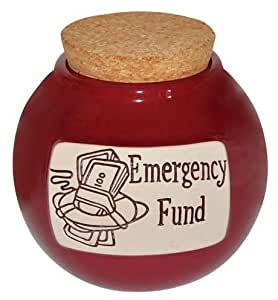Money Hand Crafted Word Jar...The Original Word Jar (Emergency Fund)