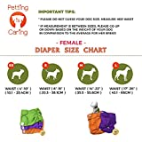 PETTING IS CARING Dog Washable Diapers & Reusable