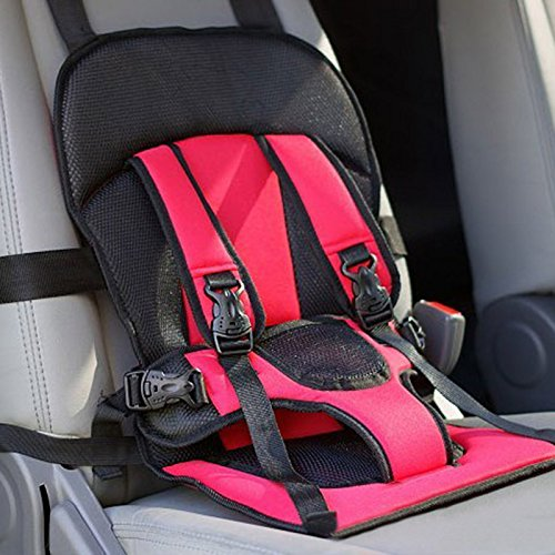 5 Point Harness Toddler - SHP Convertible Baby Child Car Safety Booster Seat Pad Group Car Baby Safety Seat Pad Child Clip Buckle Latch Nylon, Lock Tite Harness Clip