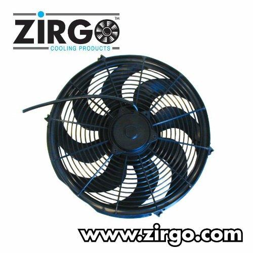 Zirgo 10221 14'' 2785 fCFM Ultra High Performance Radiator Cooling Fan by Zirgo