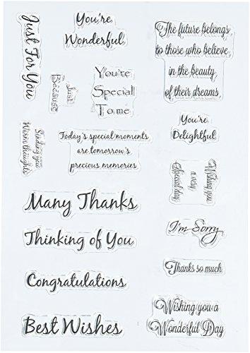 Sentiment Stamp Set 2 (Expressions Stamp Sets)