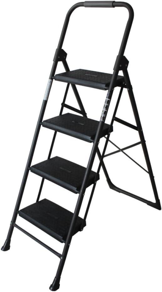 IG Escalera Alemana Casa Plegable Escalera de Dos O Tres Peldaños Escalera de Cuatro Escalones Escalera en Espiga Escalera Interior Escalera Pequeña Silla Escalera Ascendente: Amazon.es: Deportes y aire libre