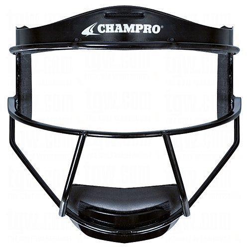 Champro Fielders Face Mask Youth Black Color: Black Size:...