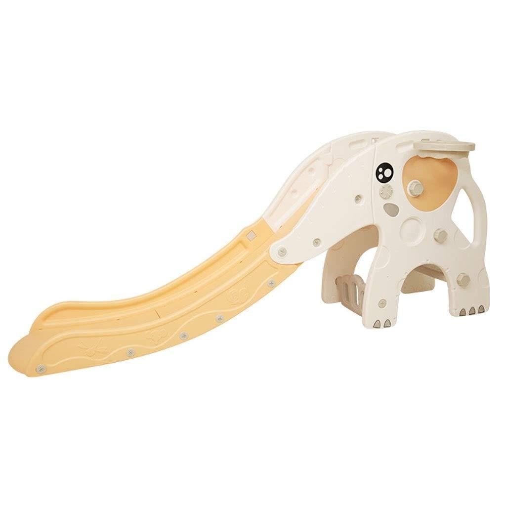 子供の屋内スライド 屋外の庭の運動場 家の子供のおもちゃ プラスチック組合せのおもちゃを登る (Color : 白, Size : 190*80cm) B07TVR2LLR 白 190*80cm