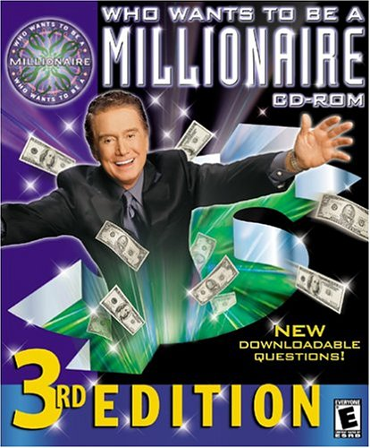 Cd Rom Kids Game Pc - Who Wants to Be a Millionaire: Third Edition - PC/Mac