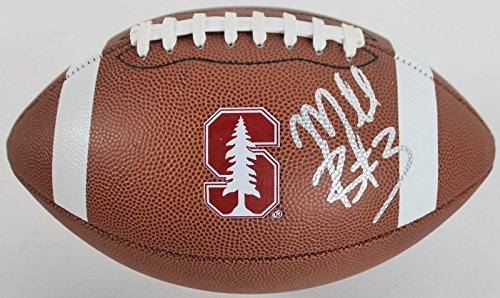 Michael Rector Signed Stanford Logo Nike Football #AC56562 - PSA/DNA Certified - Autographed College (Nike Autograph Football)