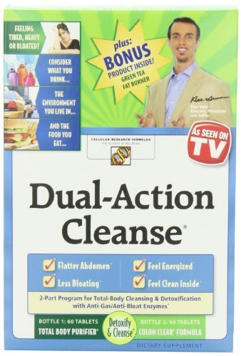 Applied Nutrition Dual Action Cleanse Kit with Green Tea Fat Burner Bonus (Pack of 2)