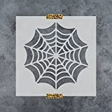 Spider Web Stencil Template - Reusable Stencil with Multiple Sizes Available