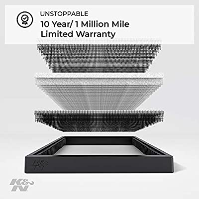 K&N Premium Cabin Air Filter: High Performance, Washable, Lasts for the Life of your Vehicle: Designed for Select 2007-2015 Ford/Lincoln/Mazda (Edge, MKX, CX-9) Vehicle Models, VF2020: Automotive
