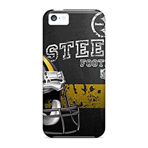 Fashionable GDl3475AEGE Iphone 5c Cases Covers For Pittsburgh Steelers Protective Cases