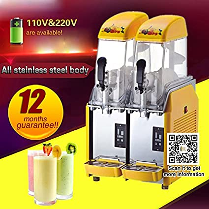 Amazon.com: Yoli Comercial 12L2 tanque Frozen Bebida Slush ...