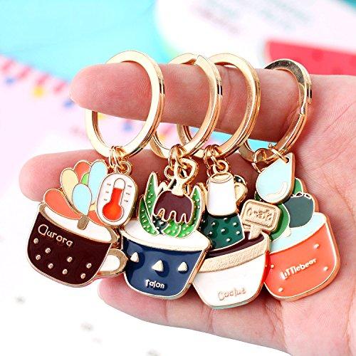 WEIAIXX La Encantadora Key Ring Hembra Pequeño Llavero De ...