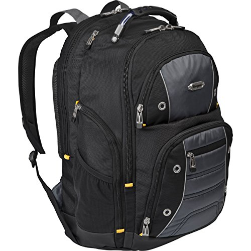 Targus Drifter II Backpack with Accessory Pouch for 16-Inch Laptops, black (TSB922US)